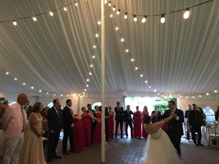 commander's mansion weddings, watertown ma wedding dj, boston wedding dj, coolcity dj, wedding djs, wedding dj service